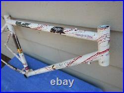 16 Kona Cinder Cone Vintage Mountain Bike Frame Splatter Paint Paul Brodie