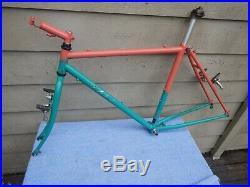 18 Vintage Ibis Mountain Bike Frameset RARE Lots of Extras Salsa Fat Chance
