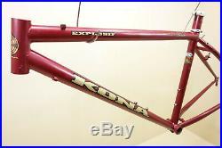 1990 s 26 Kona Explosif Mountainbike Columbus Max Rahmen 38 / 46 cm 2018 g