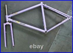 1993 Fat Chance Team Violet Yo Eddy M Frame Uncut Fork Vtg Merlin Moots Retro