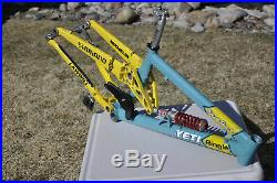 1997 Yeti DH Team Issue frame