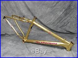 2000 Schwinn Homegrown Factory Limited Gold Frame Small 15