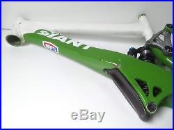 2009 Giant Glory 26 Medium Downhill Bike Frame White & Green USED 129