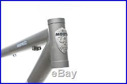 2009 Moots Mooto XZ Mountain Bike Frame 18in Medium 29 Titanium Fox
