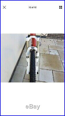 2013 Orange Five 5 Pro Full Suspension Mountain Bike 18 Inch Frame Fox Forks