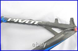 2014 Pivot Mach 429 Carbon Med 29 Full Suspension Mountain Bike MTB Fox Float
