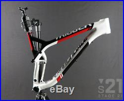 2015 Cannondale Trigger 29 Hi-Mod Front Triangle Medium, White/Red