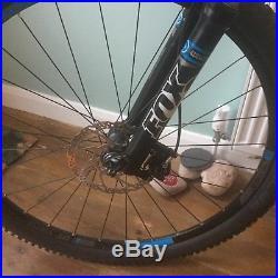 2015 Cube stereo 120 race mountain bike medium frame