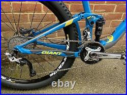 2015 Giant Anthem SX Full Suspension Mountain Bike Large Frame 27.5 Race Package