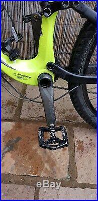 2015 SPECIALIZED STUMPJUMPER FSR Expert Carbon Evo 650b XL frame hyper green