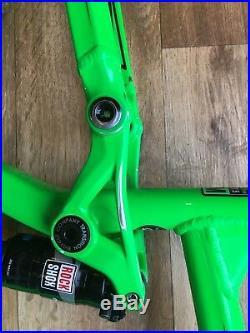 2016 Transition Scout Enduro Mountain Bike Frame, Rock Shox Monarch Rt3 Shock