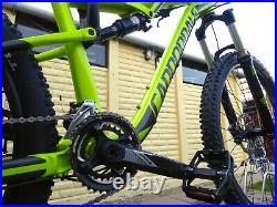 2017 Cannondale Habit 5 Mountain Bike 27.5 17 Medium Frame Full Suspension