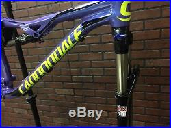 2017 Cannondale Habit Alloy Full Suspension Mountain Bike Frameset New Small