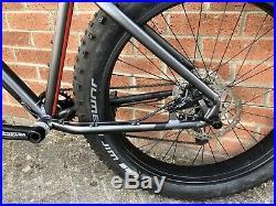 2017 Felt DD70 Fat Bike Hydraulic Brakes Frame Medium