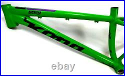 2017 Kona Wozo Fat Trail Bike- 15 Small Green 26 26er Hardtail Frame