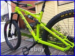 2017 Whyte G160 Enduro Full Suspension Mountain Bike 18 Medium Frame 27.5 Wheel