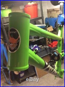 2018 Cotic Rocket Max Frame Large Fox X2 Shock 29inch Enduro Frame