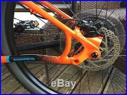 2020 Orange clockwork evo 29er comp. Large Frame