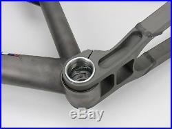26 Dean Ace Titanium Full Suspension MTB Frame, Large, EXC
