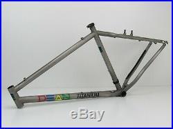 26 Dean Colonel Titanium Hardtail MTB Frame, 19, 1999