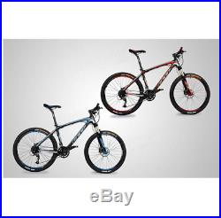 26 Inch Mountain Bike Bicycle Carbon Fiber Frame Bike 27 Speed Light Weight Bicy