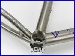 26 Kona Hei Hei Titanium Hardtail MTB Frame, Medium, Vintage