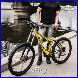 26 Men's Sport Mountain Bike Cycling 27SP Aluminium Alloy Frame Oil Disc Brake