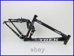 26 Trek Fuel 100 Team Issue OCLV 120 Carbon Full Suspension Frame, Medium, 2004