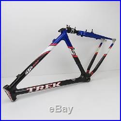 26 Trek STP 400 OCLV Carbon Soft Tail MTB Frame, Large, 2001