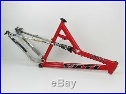 26 Yeti AS-R SL Full Suspension MTB Frame, 18, Medium, 2004