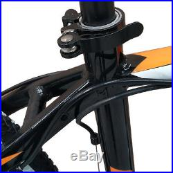 26 inch Mountain Aluminum Bike Alloy Frame 21 Gears Disc Brakes Cycling Bicycle