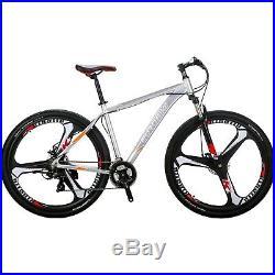 29 Mens mountain bike 21 Speed 3 Spoke Wheels 29er bicycle Allunium Frame XL
