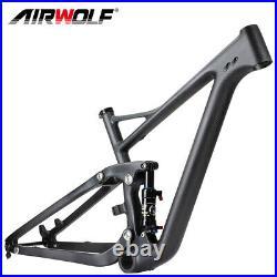 29er Full Suspension Carbon Mountain Bike Frame MTB Frames Air Shock Absorbers