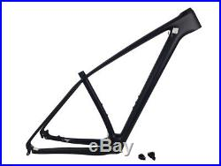 29er Matt Carbon Bike Frame MTB Mountain 15/17/19/21 Bicycle Frames Headset New