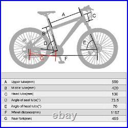 AGX100 GT Mountain Bike Adult Hybrid 27.5 Wheels Brake Discs Front Suspension