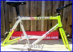 Alpinestars Al-Mega DX US Retro 1993 Peral White/Neon Green Cro-Mo Blades Fork