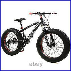 BREEZE Mountain Bike Bicycle Fat Tire Men Women 26 INCH MTB Frame Suspension