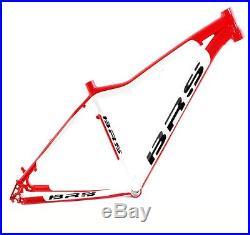 BRS Light Sport 1.2 26 Zoll Hardtail Mountainbike Rahmen 41cm weiss / rot