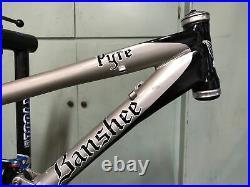 Banshee Pyre 15 Full Suspension Frame, 26 Wheels, Fox Float RP3 Shock