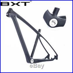 Bike Frame 29er Full Carbon Fiber Mountain Bike Frames MTB Bicycle Frameset 3k