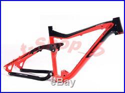 Bike Frame Full Suspension Aluminium Frame MTB Mountain alloy 26/27. 5er 17 inch