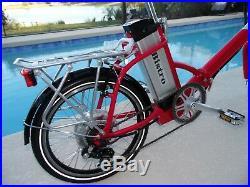 Bistro Electric Bike 48V 22 ah Adult Frame Folding 700-1300 Watt Made in USA