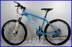 Blue 26 Alloy Frame Mountain Bike Bicycle Shimano 21 Speed Alloy Wheel X3