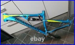 Boardman MTB FS Pro full suspension 27.5 Mountain Bike Frame small 140mm travel