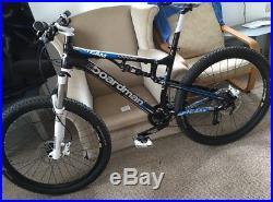 Boardman Mountain Bike Full Suspension 650B 27.5 inch Wheels 20 Gears XL Frame