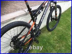 Boardman Team FS Full Suspension Bike Large 19 inch Frame & Spare Set of Tyres
