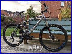 Boardman Team FS Full Suspension Mountain Bike / 18 Medium Frame