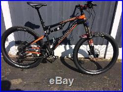 Boardman Team Full Suspension FS 27.5in Mountain MTB Bike Size Medium 18 frame