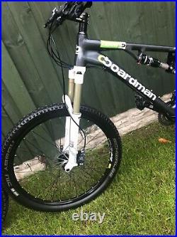 Boardman Team TXC 18 Frame Full Suspension Mountain Bike
