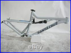 Brand New SANTA CRUZ BRONSON AL FRAME SET Size M Wheels 27.5 White/Gray